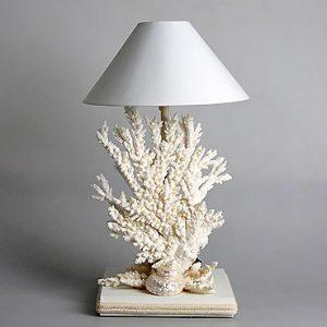 Lampada con coralli